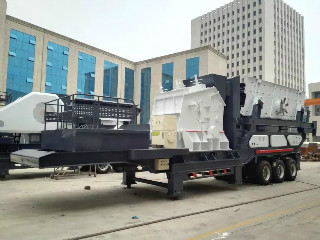 Used Portable Stone Crushing Machine