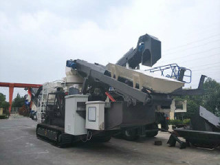 Chines Small Mobile Stone Crushers