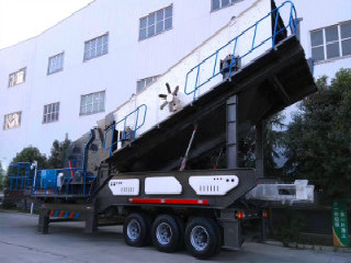 Mobile Breakdown Portable Cement Crusher